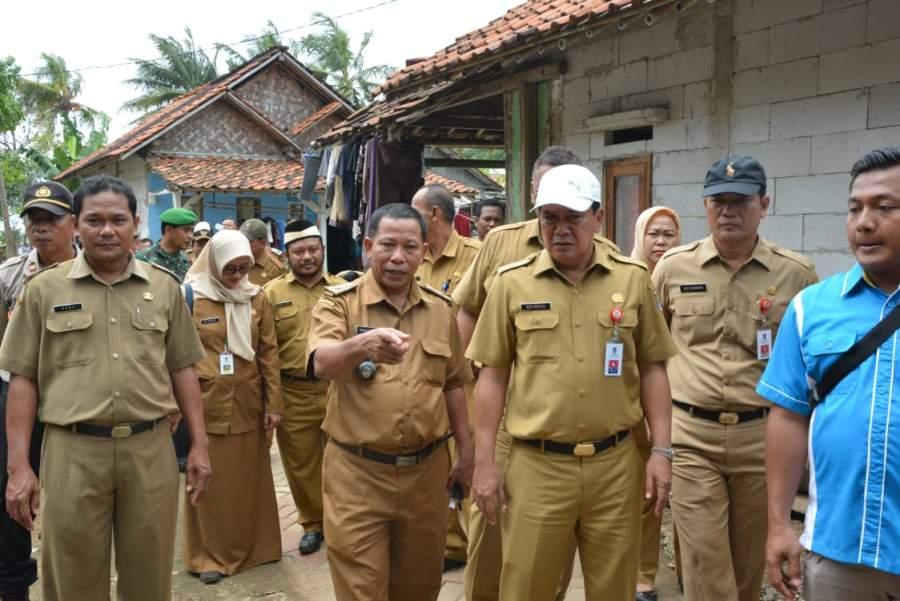 Sekda Tinjau Kesiapan Kunjungan Ibu Negara ke Kecamatan Pakuhaji