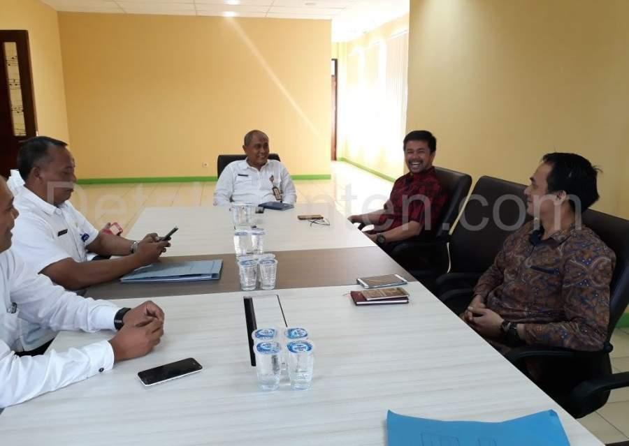 Soal Pengawasan Tenaga Kerja, Kadisnaker Kabupaten Tangerang Curhat Dihadapan Anggota DPR