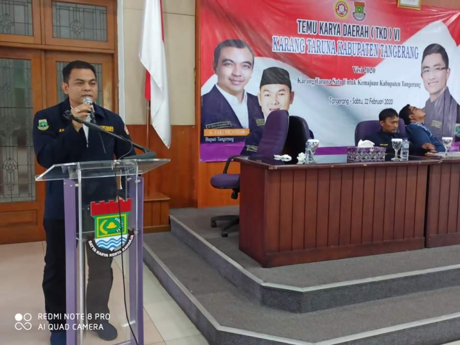 Dipilih Secara Aklamasi, Muhamad Hasan PM Resmi Jabat Ketua Karang Taruna