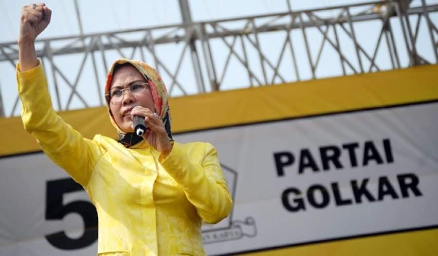 Ketua DPD Golkar Banten Ratu Tatu Chasanah. (net)