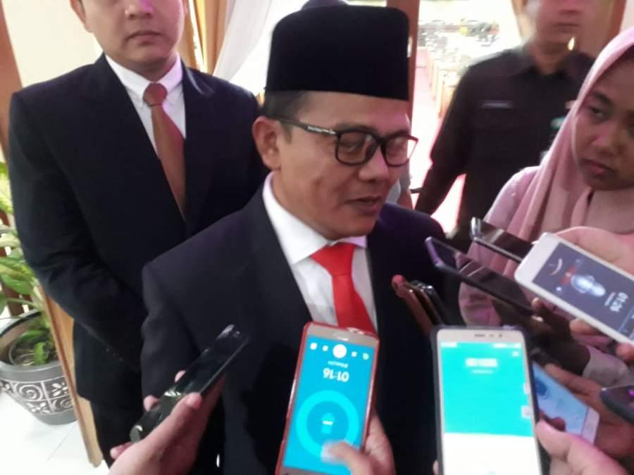 Resmi Dilantik, Begini Harapan Ketua DPRD Kepada Tujuh Pejabat Eselon Baru