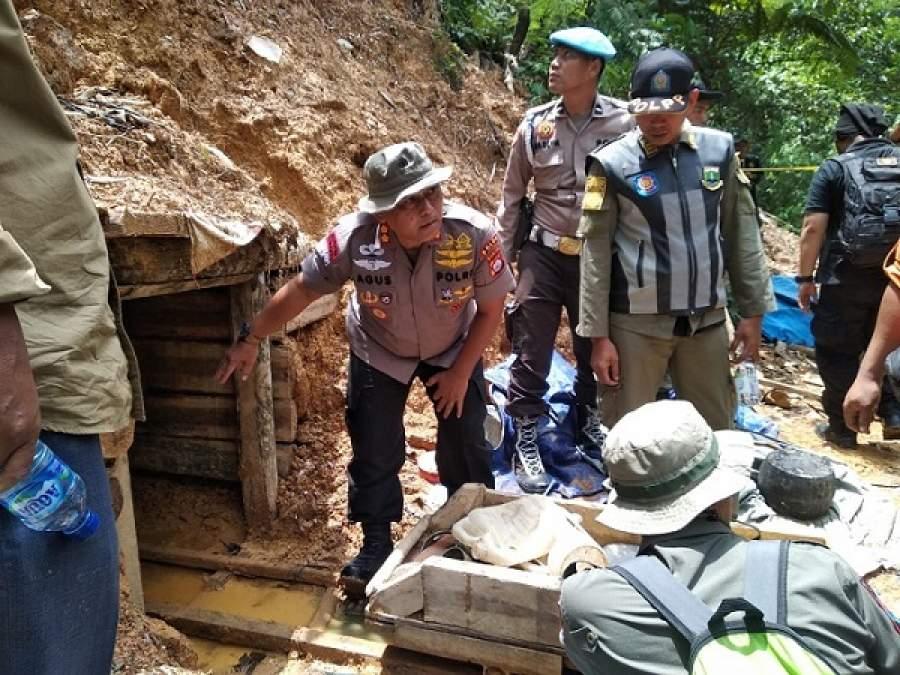 Diduga Penyebab Banjir dan Longsor, Polda Banten Kembali Tutup 10 Tambang Emas di Lebak