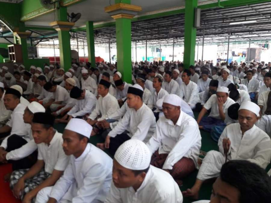 Lapas Pemuda Kelas II A Tangerang Peringati Maulid Nabi Muhammad SAW