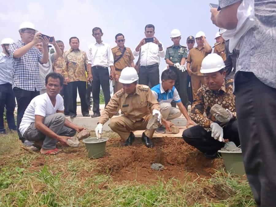 Universitas Pamulang Resmi di Bangun, Syafrudin : Tingkatkan SDM di Kota Serang