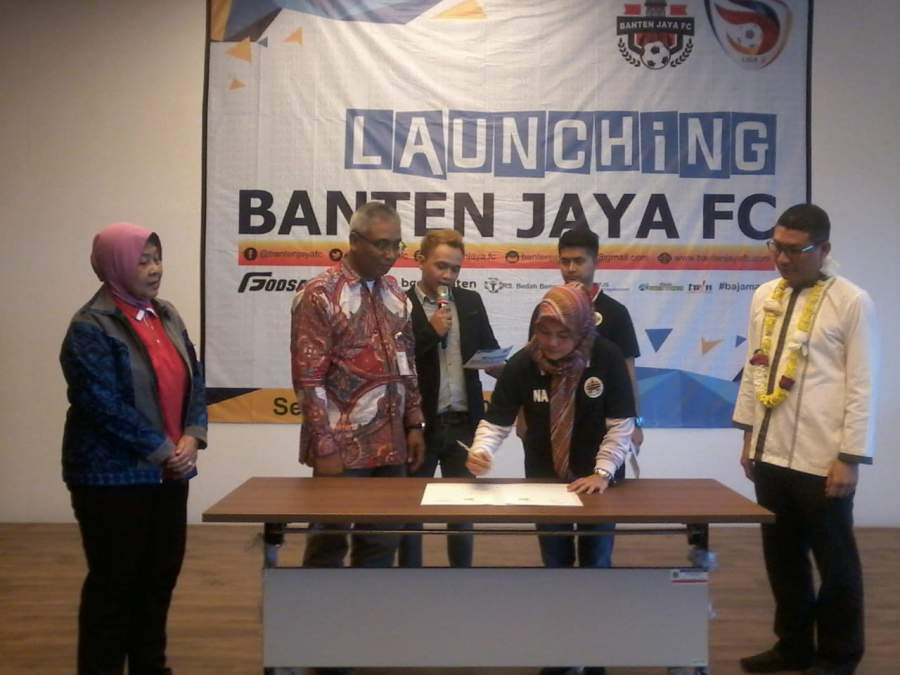 Banten Jaya FC Hadir Penuhi Keinginan Masyarakat Banten Dalam Bidang Olah Raga Sepakbola