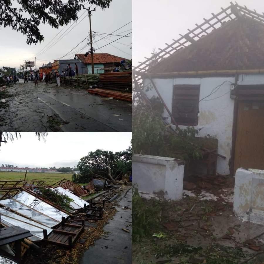 Puluhan Rumah Di Mauk Rusak Diterjang Angin Puting Beliung