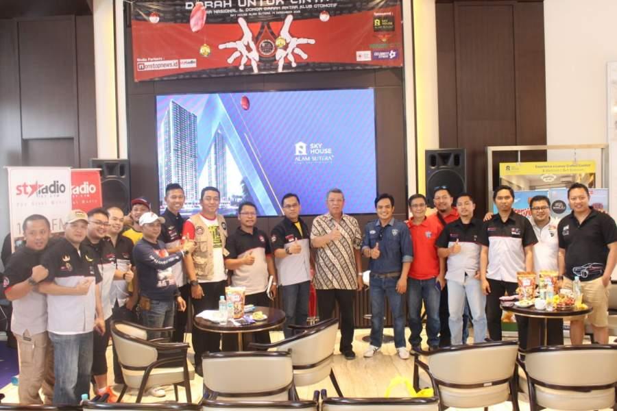 """Aksi Kemanusian """"Donor Darah Untuk Cinta' Klub Otomotif Tangerang Raya"""