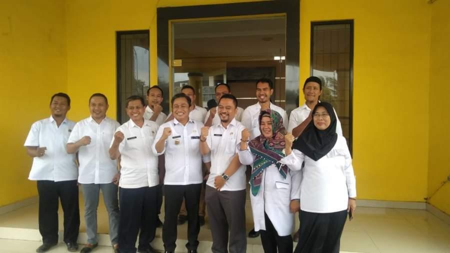 Tinjau Dinas PU Kota Serang, Subadri: Serapan Anggran Tahun 2019 Harus 100 Persen
