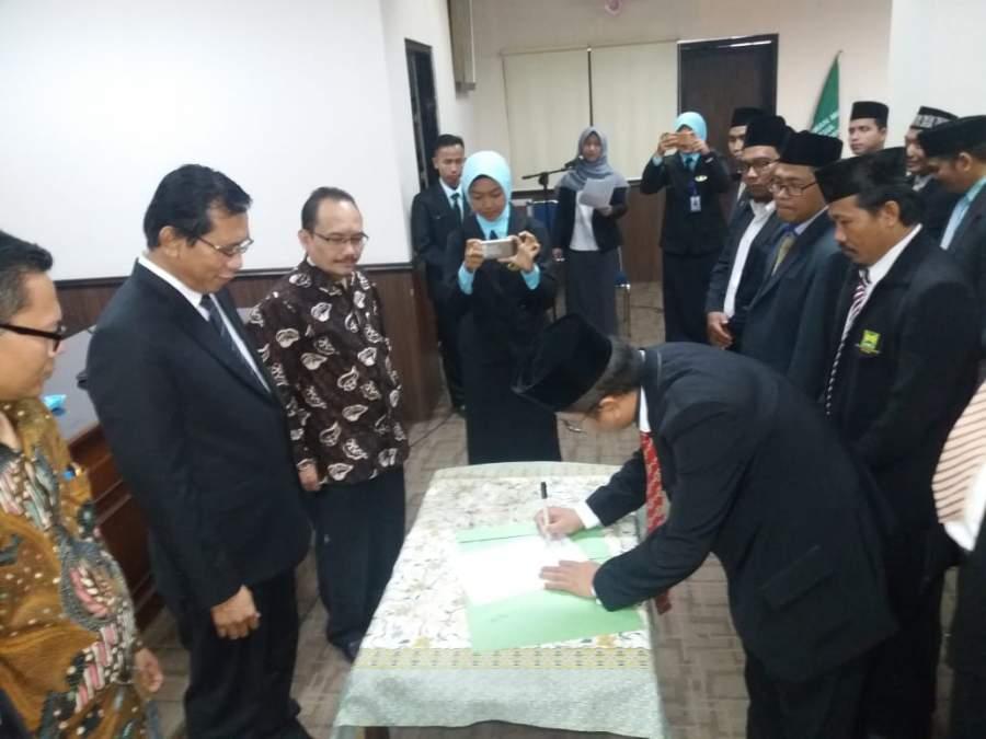 Resmi Dilantik, Agus Jabat Ketua ICMI Orda Kota Serang