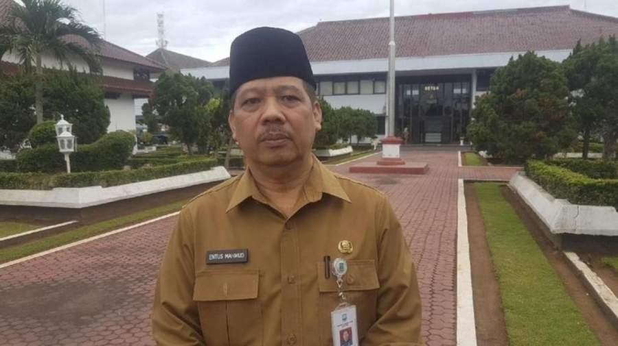 Sekda Kabupaten Serang Tb Entus Mahmud Sahiri