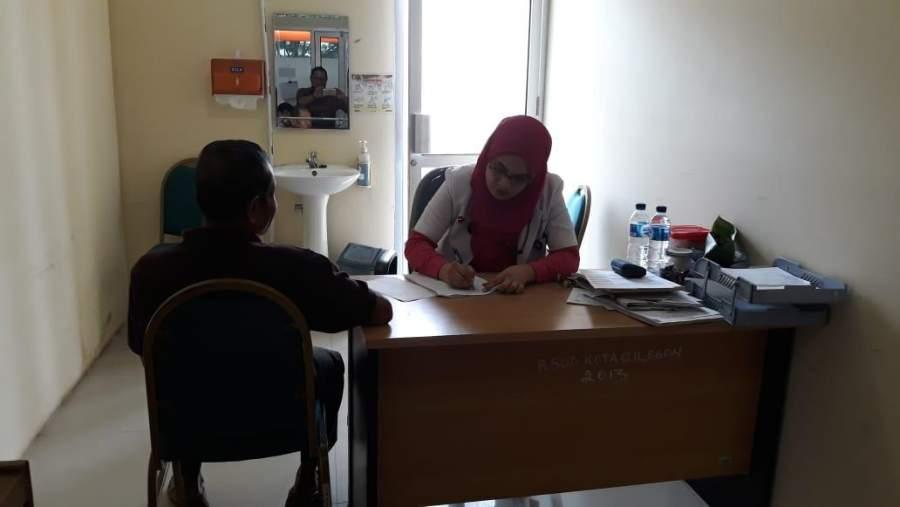 Pasien Penderita Jantung di RSUD Cilegon Diberi Sentuhan 'Khusus'