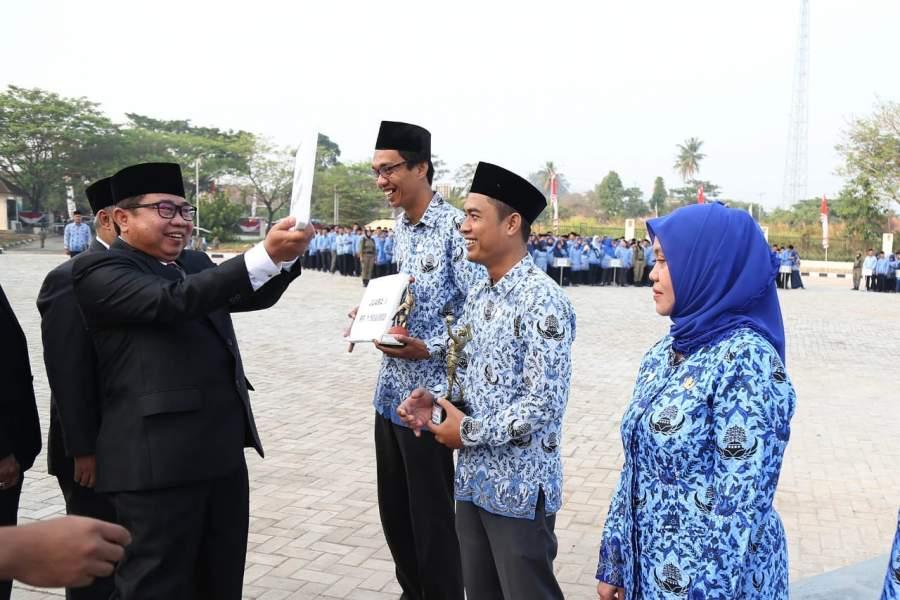 Plh Sekda Banten Pimpin Upacara HUT RI