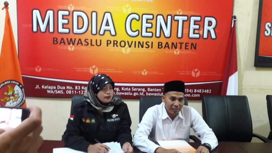 Bawaslu Banten; Dari 8 Kabupaten Kota Di Banten, Ada 13 Temuan Pelaggaran Di Pemilu 2019