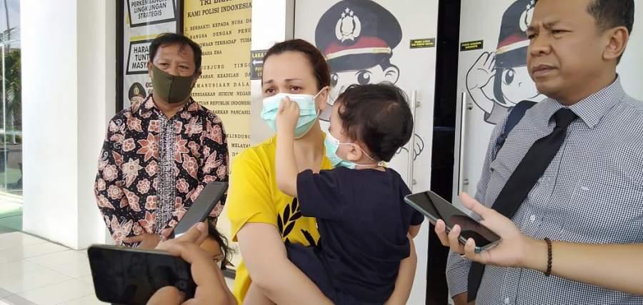 Ditahan Polres Tangsel, Ibu Tiga Anak Ini Sedih Tinggalkan Tiga Anaknya Berusia Belia