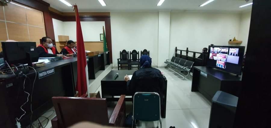 Cegah Corona, Kejari Kabupaten Tangerang Gelar Sidang Online