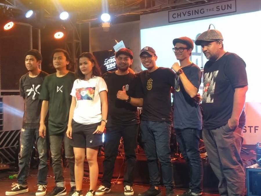 "Band Chvsing The Sun Launching Mini Album ""Hari Yang Lebih Baik"""