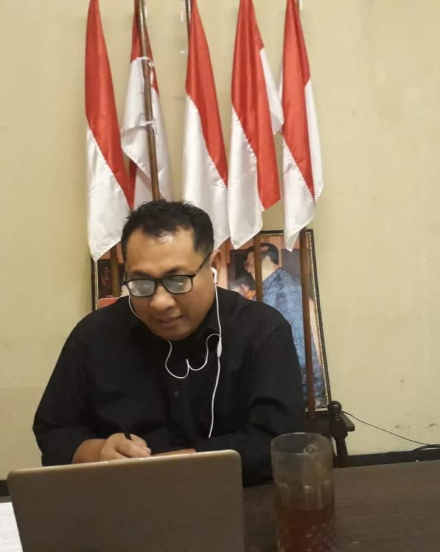 Ketua Umum SMSI Pusat Firdaus.