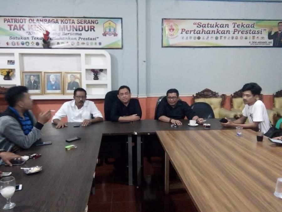 Deni Arisandi Terpilih Jadi Ketua Koni Kota Serang Sesuai AD/ART
