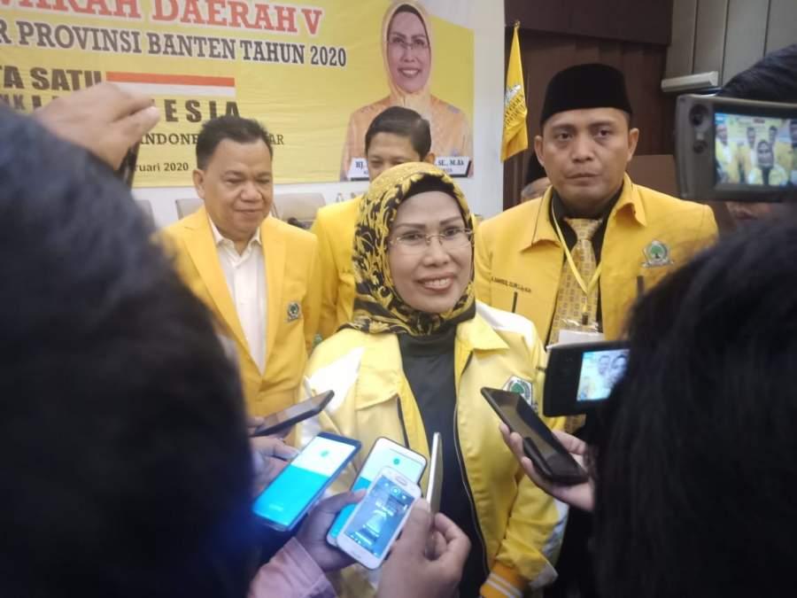 Ketua DPD Partai Golkar Ratu Tatu Chasanah