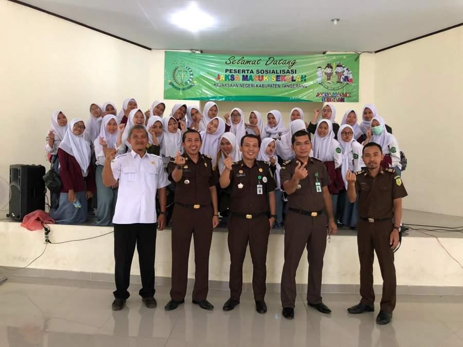 Cegah Siswa Langgar Aturan, Kejari Kabupaten Tangerang Gelar Penyuluhan Hukum