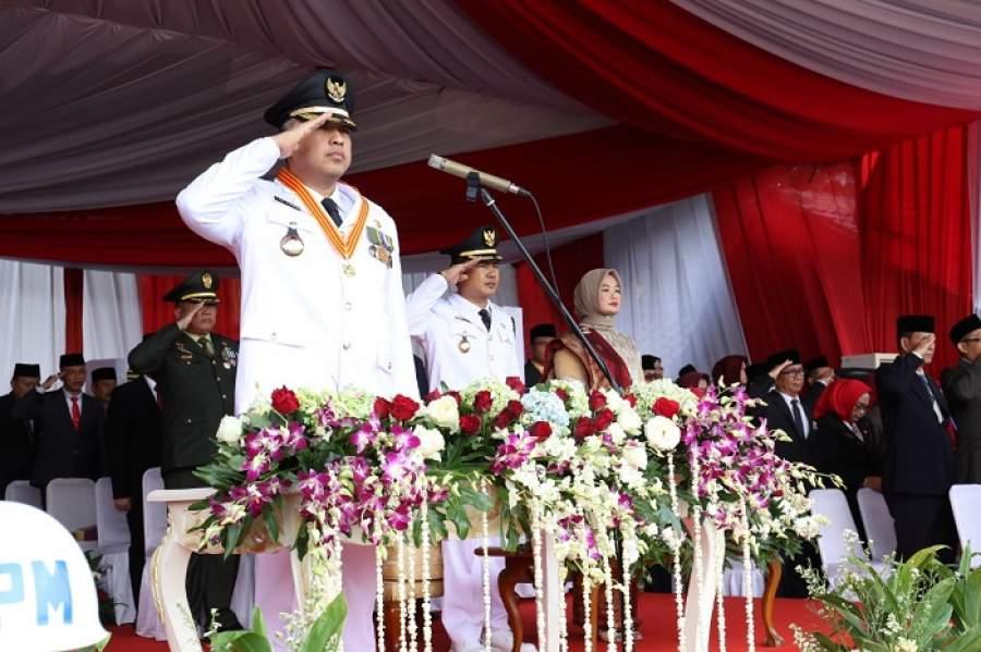 Peringatan HUT RI Ke 74 Di Kabupaten Tangerang Berlangsung Hidmat