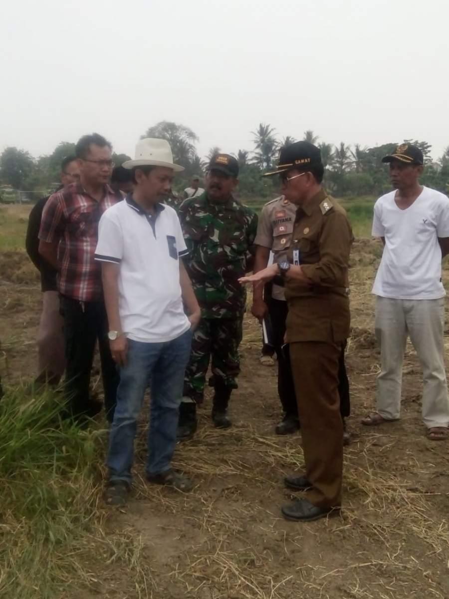 Camat Kresek hentikan Pengerukan Tanah di Situ Patrasana