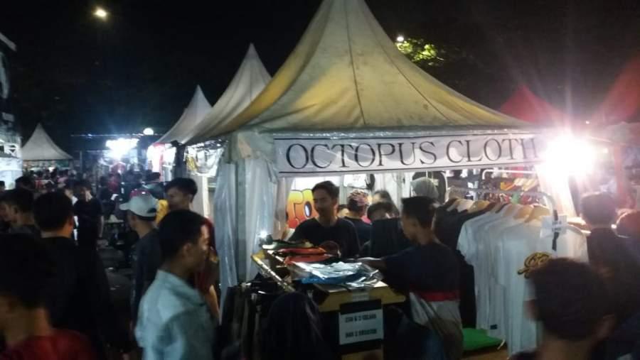 Hari Terakhir BIC, Cltohing Octopus Berikan Diskon 50 Persen