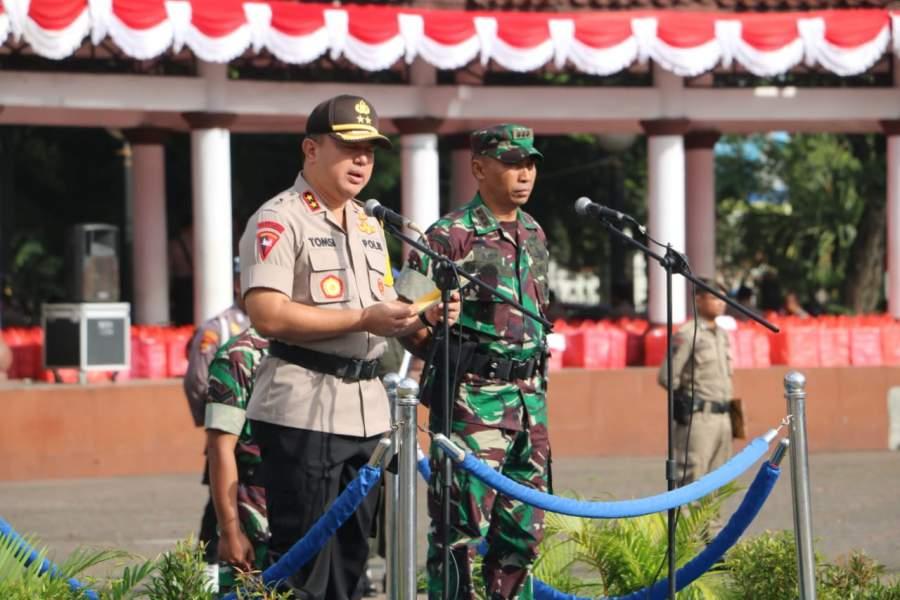9.000 Pasukan Gabungan, Hadiri Rapat Umum Pemilu 2019 Alun Alun Kota Serang