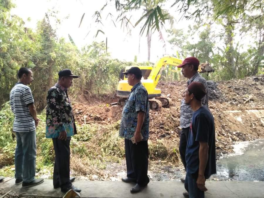 Walikota Serang Pantau Normalisasi Kali Srewok di Kasemen
