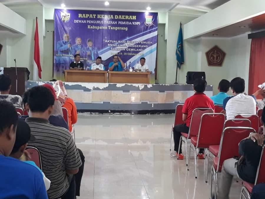 Susun Program Kerja , DPD KNPI Gelar Raker Di Puncak Bogor