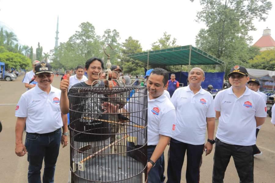 Festival Burung Berkicau Piala Walikota, Meriahkan Rangkaian HUT Kota Tangerang Ke-27