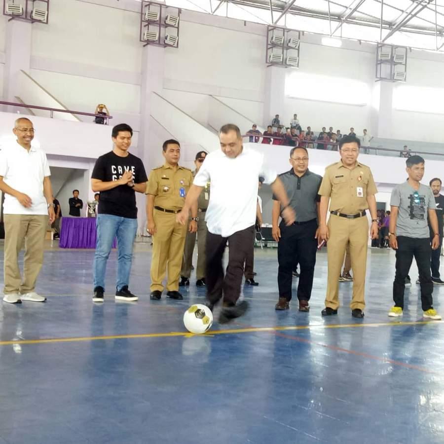 Zaki Buka Turnamen Futsal Pelajar