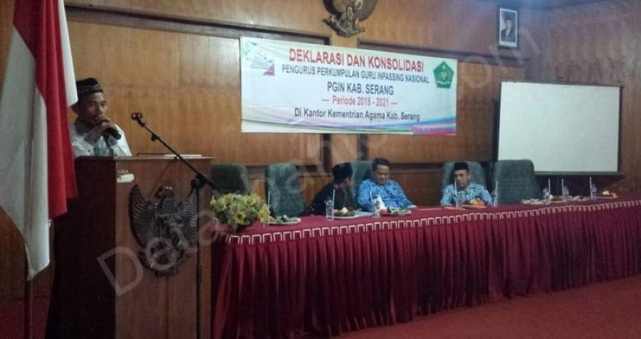 PGIN Kabupaten Serang Di Deklarasikan.