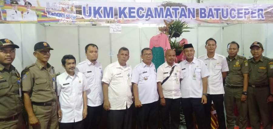 Kecamatan Batu Ceper, Tampilkan Produk UMKM Unggulan Di Tangerang Expo