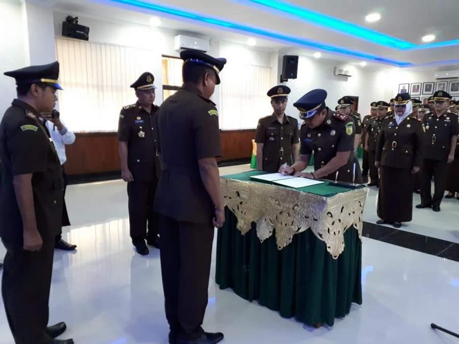 Mantan Asisten Pengawasan Kejati Sumbar Resmi Jabat Kejari Kabupaten Tangerang