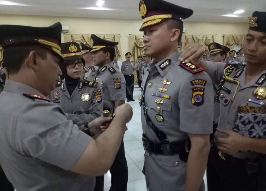Kapolda Banten Pimpin Sartijab Polres Serang