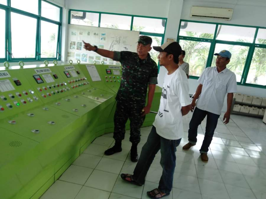 Antisiasi Banjir, Dandim 0602/Serang Tinjau Bendungan Pamarayan