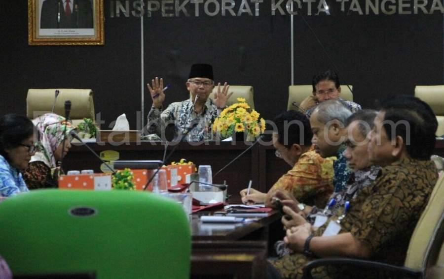 SAKIP Nilai B, Pjs Wali Kota Tangerang Ngamuk