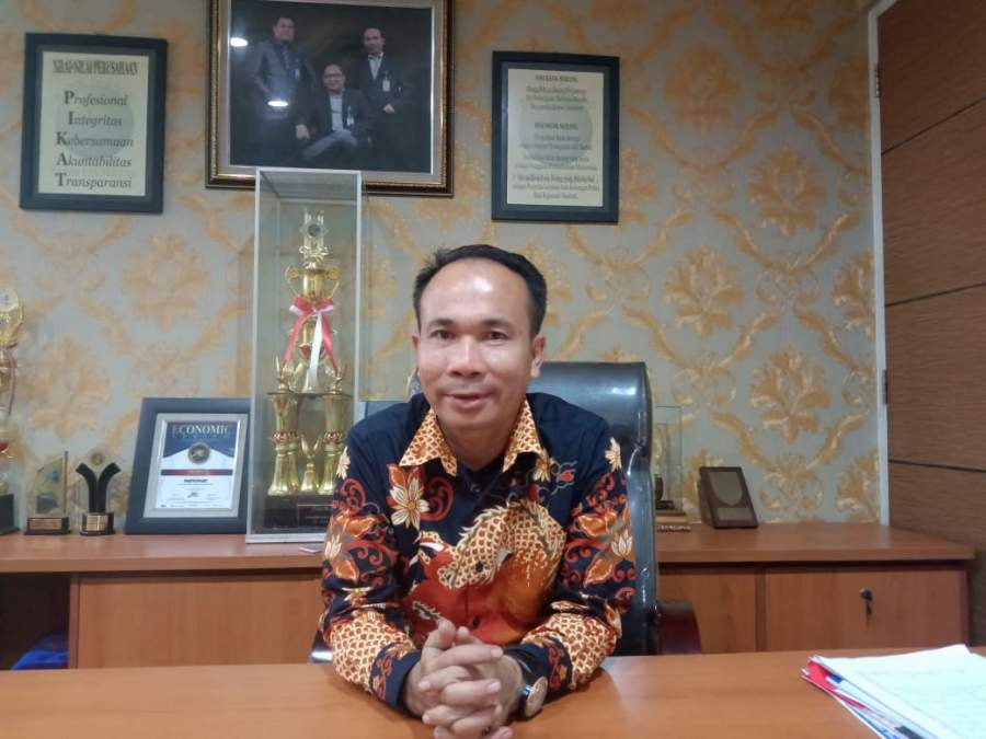Direktur BPR Serang Teguh Imn Darmawan