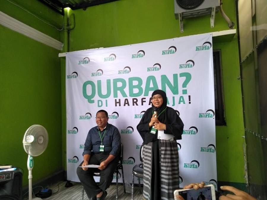 Berqurban Bersama Laz Harfa Banten Tebar Qurban di Pelosok Sampai Palestina