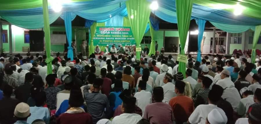 Ribuan Jamaah Ikuti Haul KH. Muhamad Thowil Ke-15