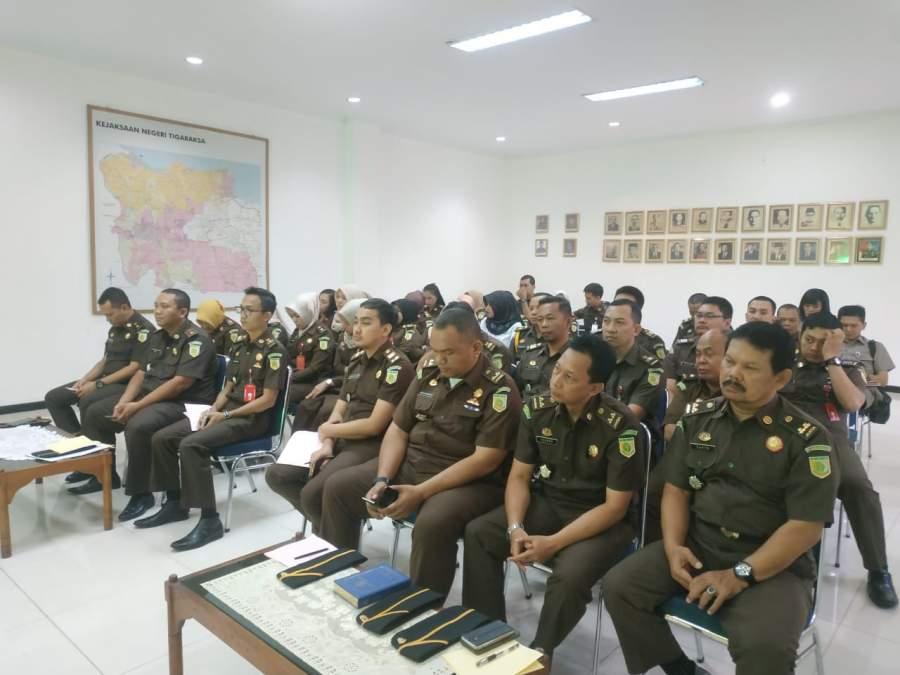 Baru dilantik Presiden, Komjak RI Tancap Gas Sambangi Kejari Kabupaten Tangerang