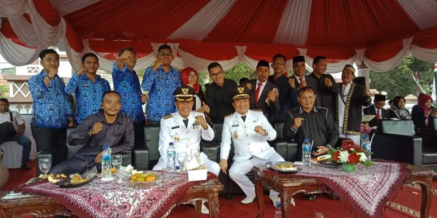 Upacara HUT RI ke74, Syafrudin : Membangun SDM Sebagai Kunci Indonesia Maju