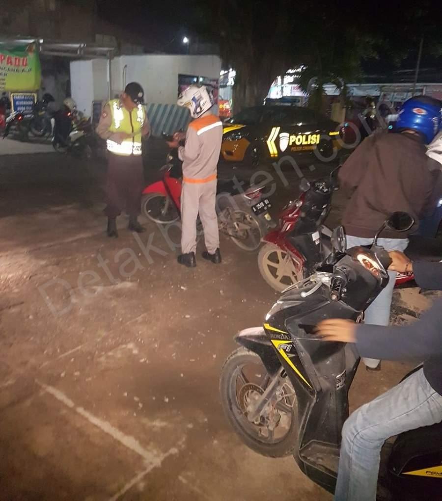 Operasi Gabungan di Kawasan Anyer, 13 Pengendara Ditilang