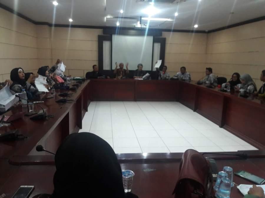 Temui DPRD : Guru Honorer K2 Kecewa Tidak Dapat Kartu Ujian P3K