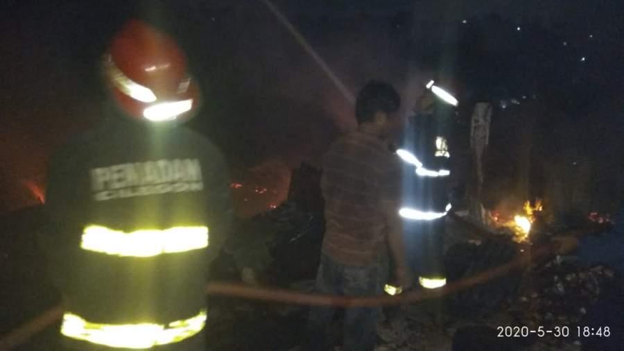 Pabrik Keripik Singkong di Cilegon Terbakar