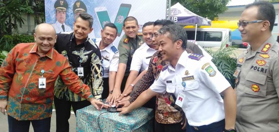 Moment HUT Kota Tangerang Ke-27, Dishub Luncurkan Smart Card