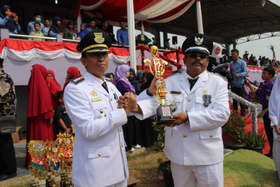 Desa Cikande Boyong Juara Umum Perlombaan HUT RI Ke 74