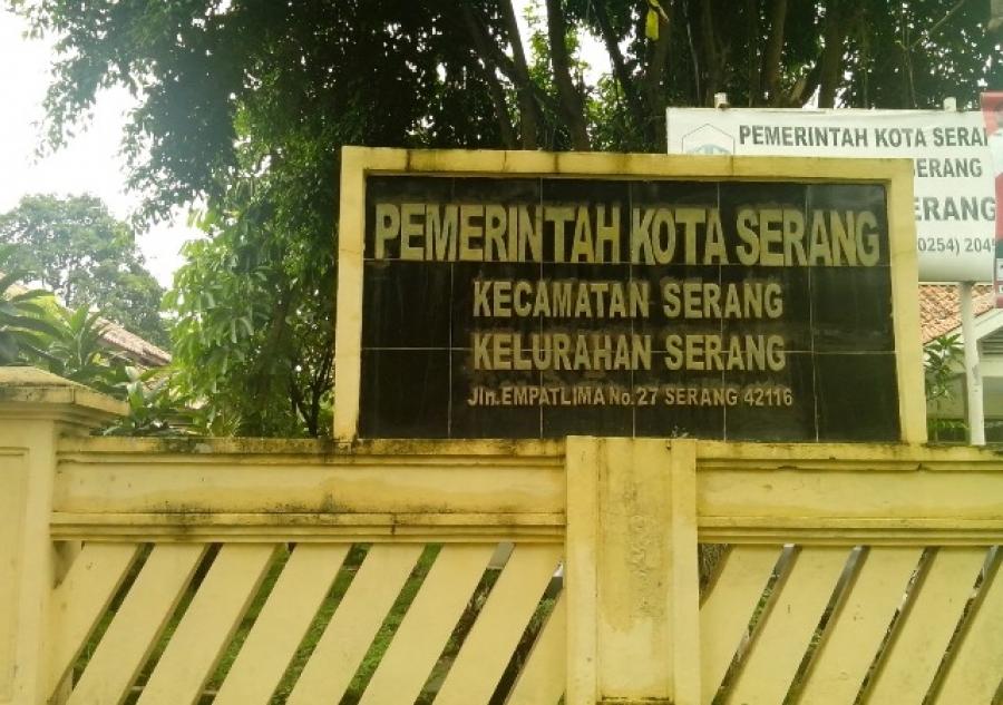 Detak Banten Kantor Kelurahan Serang Bandrol 100 Ribu