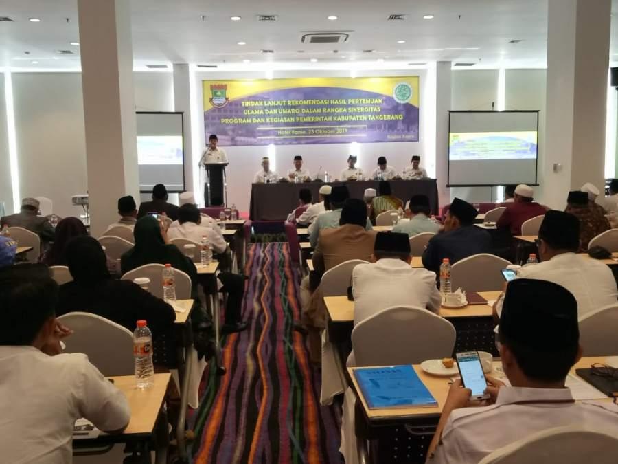 Ulama Dan Umaro Gelar Pertemuan Bahas Program Pembangunan
